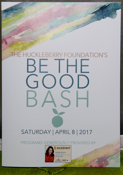 The Huckleberry Foundation - Be The Good Bash