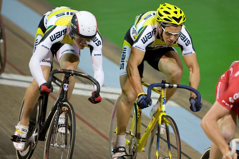 Jason Halloway (WA, Aus) and Stephen Hall (WA, Aus)