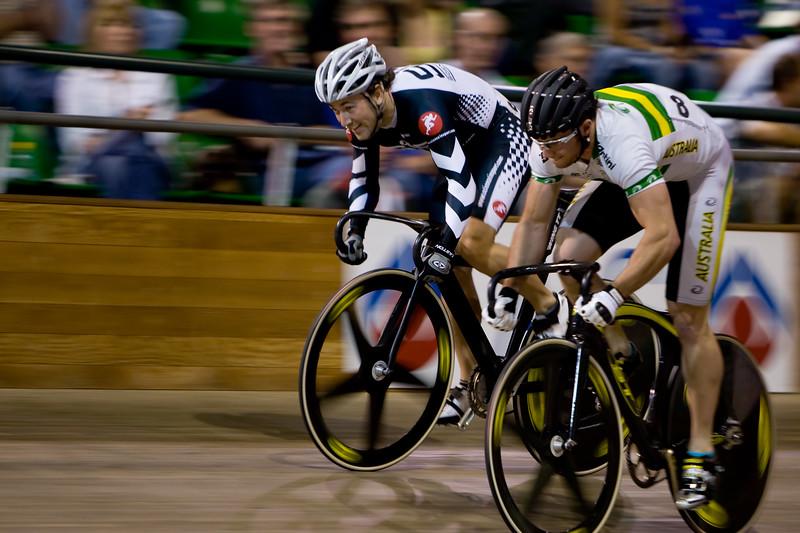 Ross Edgar (Scot) vs Mark French (Vic, Aus)