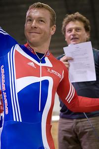 Chris Hoy (Scot) and Darryl Benson (WA Head Coach)