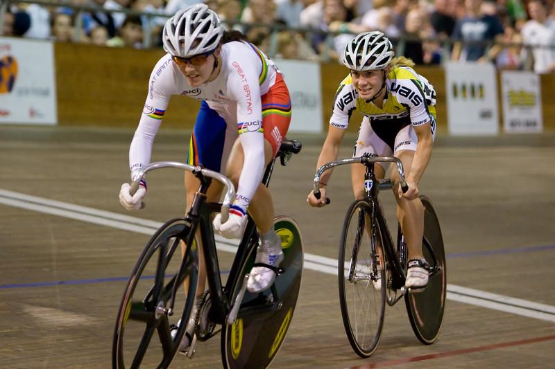 Jo Butler (WA, Aus) vs Victoria Pendleton (Eng)