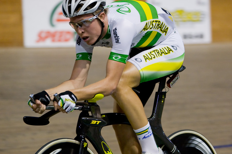 Cameron Meyer (WA, Aus), 4km Team Pursuit.
