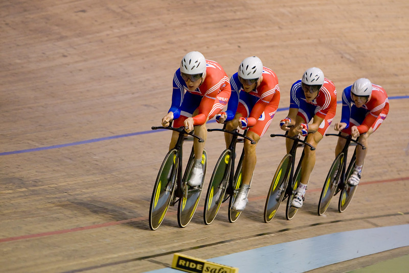 Great Britain team, 4km Team Pursuit.