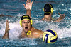 Australia's Sam McGregor breaks free from his South African opponent to get the ball during the men's heats on day 3.