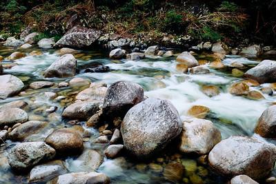 Mossman River rapids