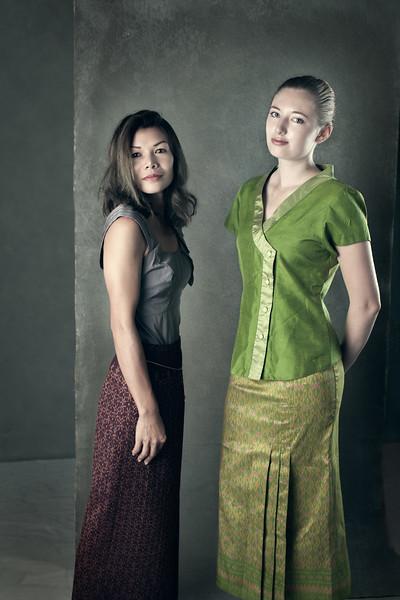 Tori and Tae - Thai Dress