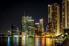 Brisbane Riverside by night 2014