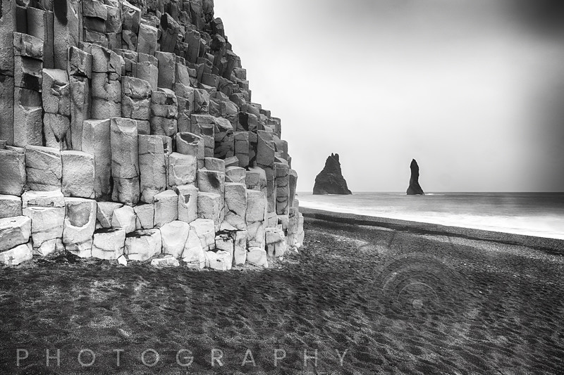 Reynisdrangar Sea Cliffs