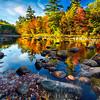 Swift River Fall Foliage Reflections