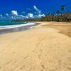 Vertical View of a Caribbean Beach,Luquillo Beach, Puerto Rico