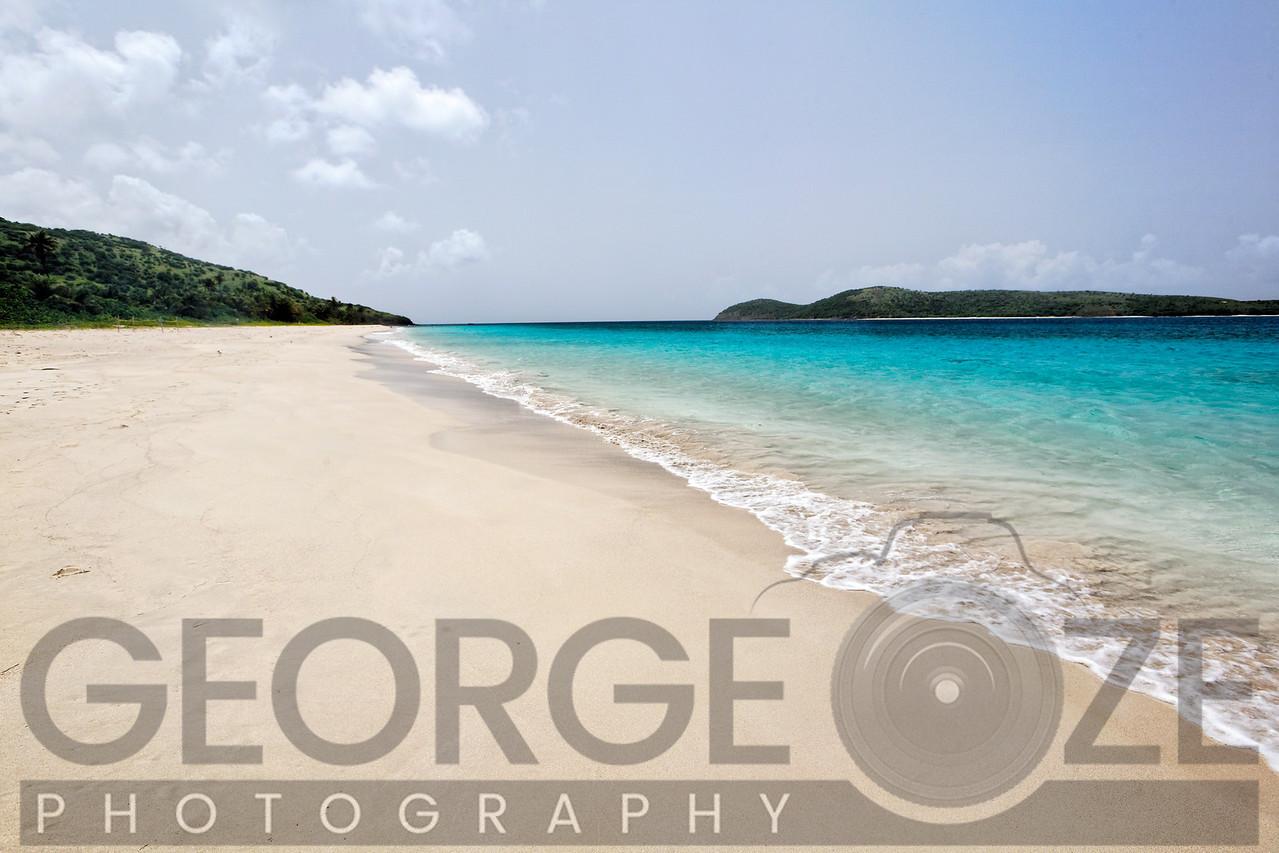 Zoni Beach Scenic, Culebra Island, Puerto Rico
