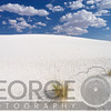 White Gypsum Sand Dunes, White Sands National Document, New Mexico