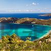 Panoramic Aerial View of Magens Bay, St Thomas, US Virgin Islands