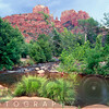 Cathedral Rock  at Red Creek Crossing, Sedona, Arizona