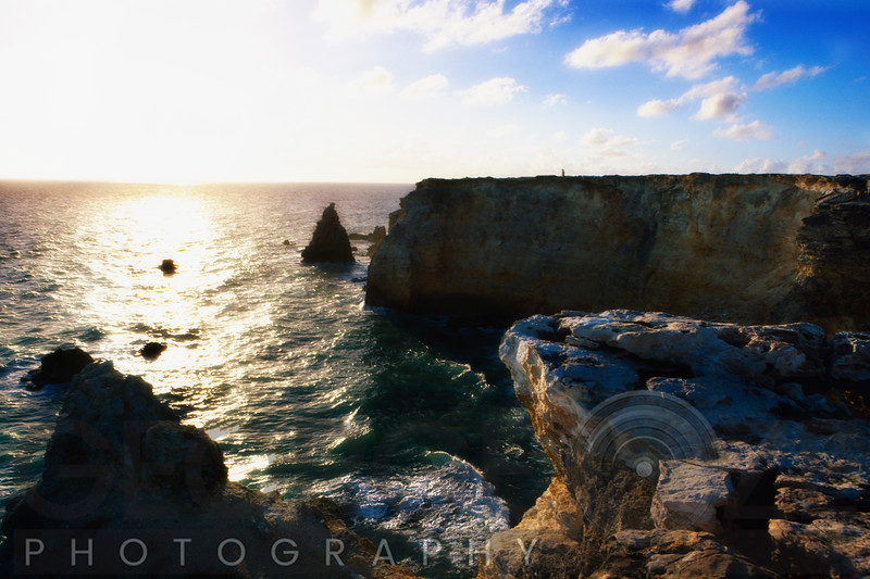 Sunset at the Cliffs Of Cabo Rojo, Puerto Rico