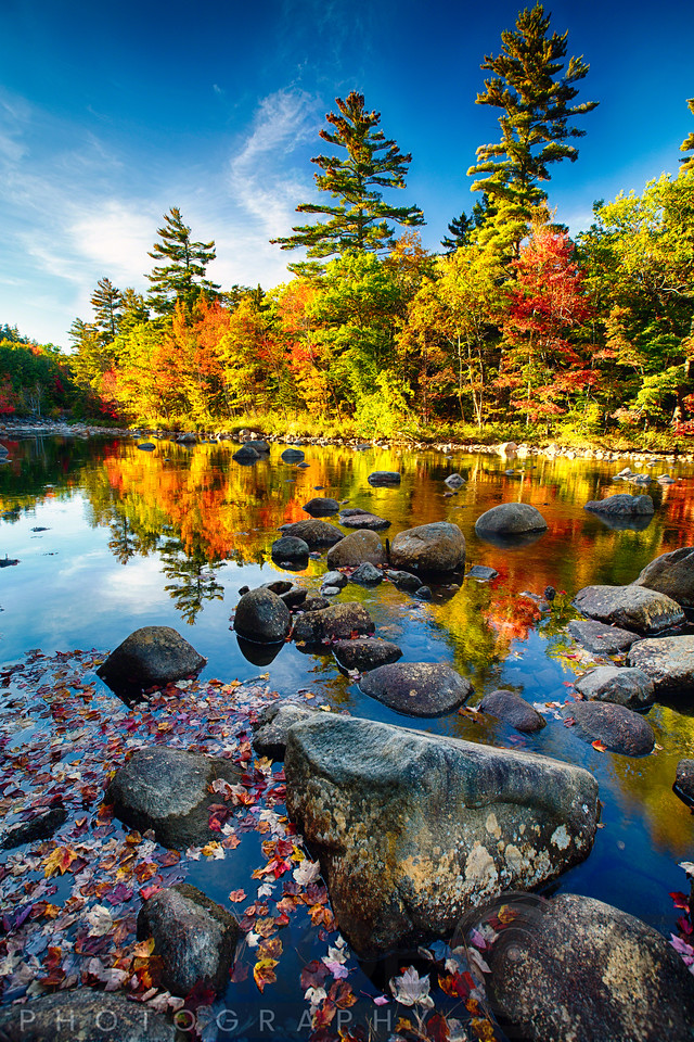 Swift River Autumn Reflections