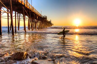 Surfer Strolling