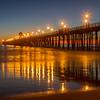 Oceanside Pier at Night