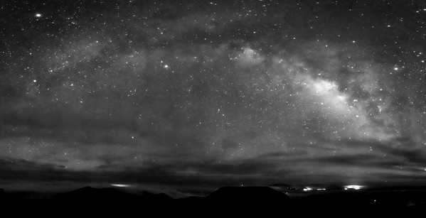 Milky Way Galaxay over Hawaii from Haleakala