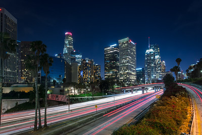 LA at Night 1