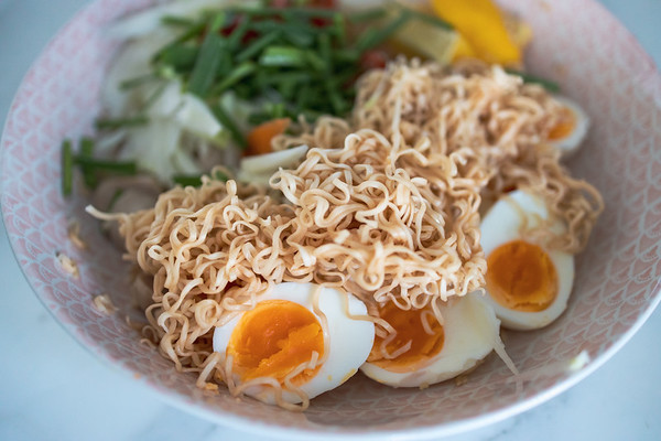 Eggs and noodles - Testing RF 35mm