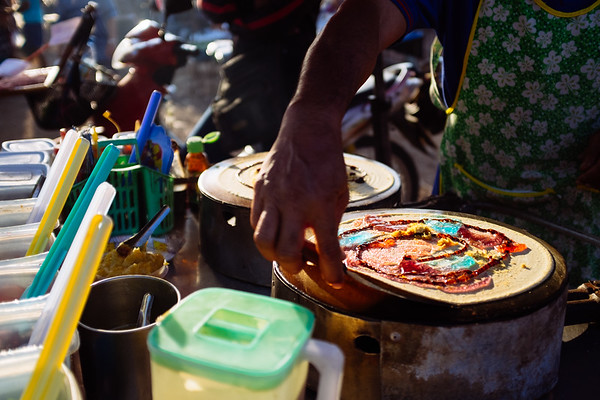 Thai Sweet Crepes