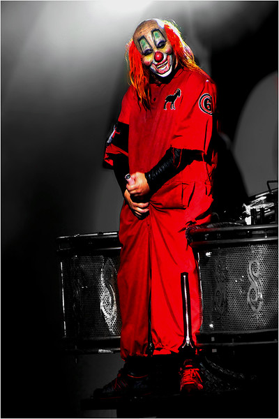 "M. Shawn ""Clown"" Crahan of Slipknot"