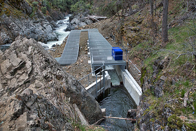 Lower Deer Creek fish passage project