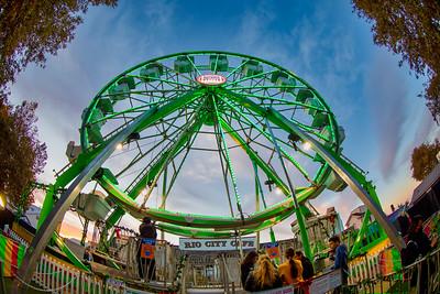 Old Sacramento Ferris Wheel