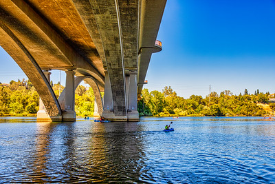 Lake Natoma Bridge Under Crossing