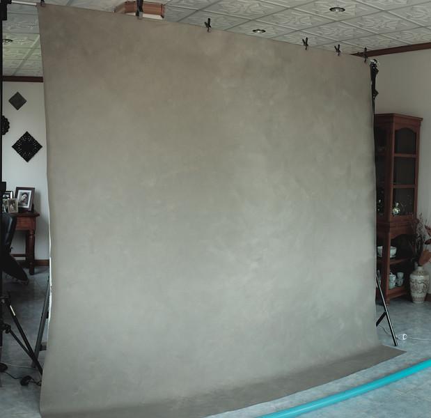 DIY Canvas Backdrop