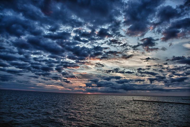 12/19 - Sunset on the lake