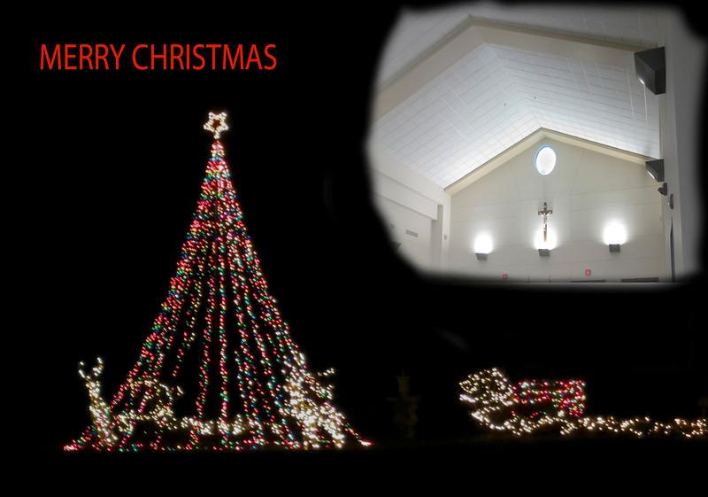 12/24 - Christmas Eve Mass in Franklinton, LA.