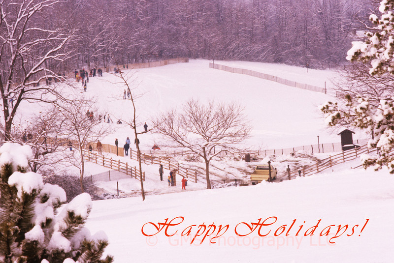 Holiday greeting card cover