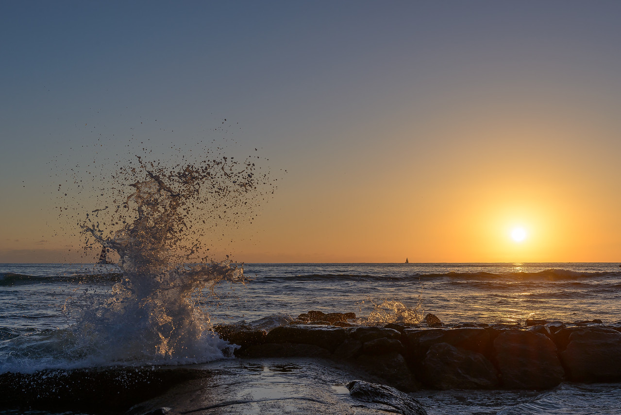 Waikiki Beach Sunset