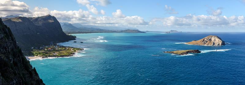 Oahu. Hawaii from Makapu'u Point