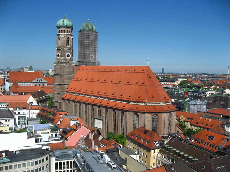 Cathedral in Munich, Germany