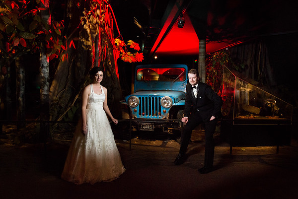 Fornear Photo Milwaukee Public Museum Wedding