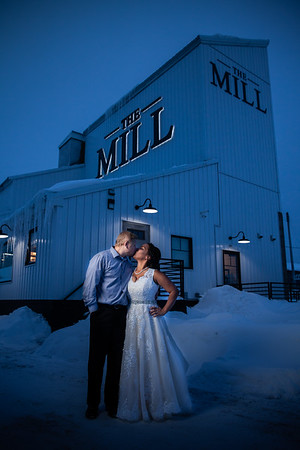 Winter Wedding at The Mill in Chetek, WI