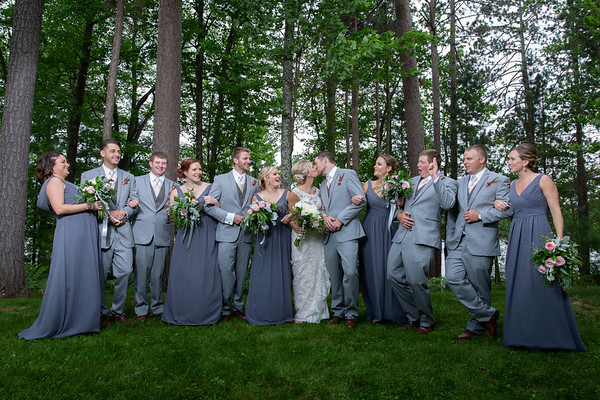 Courtney & Nate's Northwoods Wedding