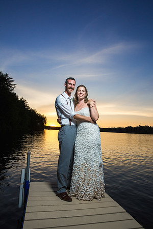 Northwoods Wedding on Plum Lake