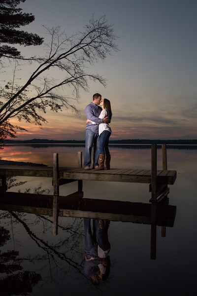 Northwoods Engagement Photography