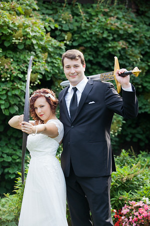 Woodland Offbeat Bride Wedding by Photographer Fornear Photo