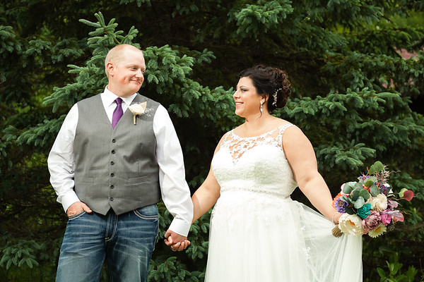 Northwoods Wild Eagle Wedding