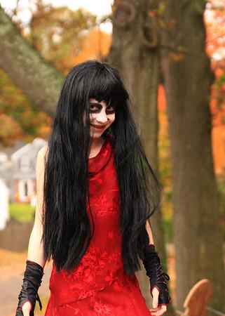 Spooky.... a little too spooky!