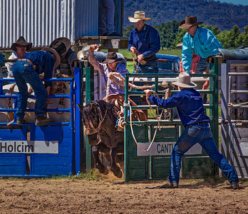 Bronc Riding Bungenore Rodeo 5999