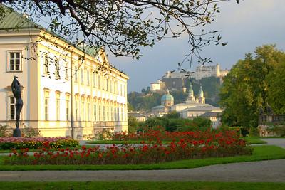 Schloss Mirabell (Mirrabela Palace), Salzburg, Austria.
