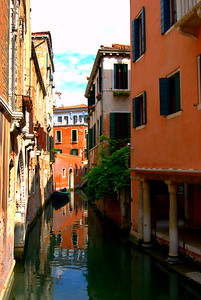 A Quiet Canal, Venice, Italy