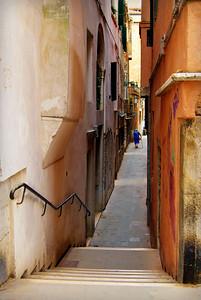 Camminata di sabato, Calle dei Miracoli, Venice