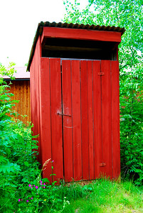 Uthus (Outhouse), Mora, Sweden